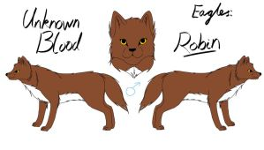 Unknown Blood - Robin Reference by fluffylovey