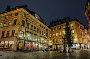 Old Town by Night VI by HenrikSundholm