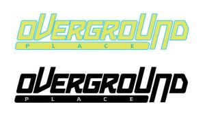 logo for overground mtl by sounddecor