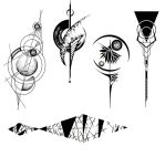 tattoo designs abstract 01 by BothropsAtrox