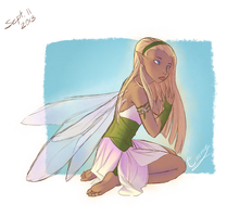 Another Fairy by vasira