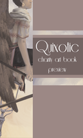 Quixotic Charity Art Book Preview by halfwitwonder