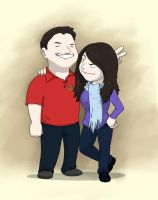Dave and Renee by Sughly