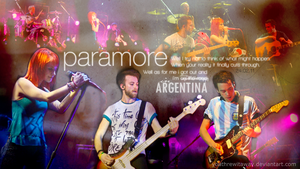 Paramore Live In Argentina 3 by youthrewitaway