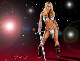 Jenny The Barbarian Queen by MarcLam