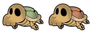 PM14 PreH: K-T Koopa Skeletons by The-PaperNES-Guy