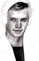 Gaze of Hayden WIP by majah