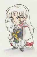 Sesshomaru by AmberStoneArt