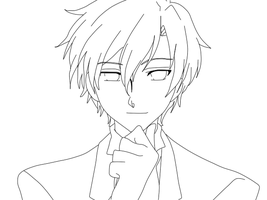 Tamaki lineart by Justa0120