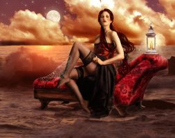 The Forgotten Concubine by wolfmorphine