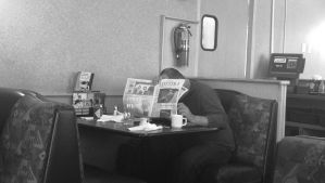 saturday morning Dennys by myoung4828