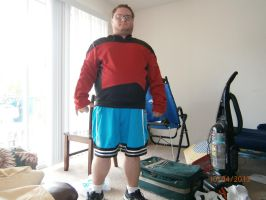 my tng  halloween outfit by enterprisedavid