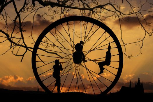 The Wheel of Life by ahermin
