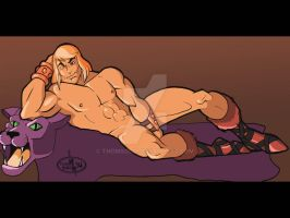 Prince Adam by day, but He-Man by Night by thomsolo