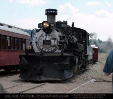 Steam Train 2 by SalsolaStock