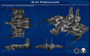 G-X1 Firehauler ortho [New] by unusualsuspex