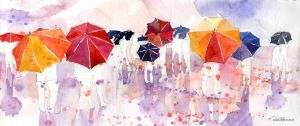 umbrellas by takmaj