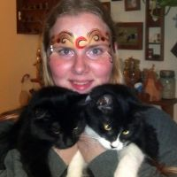 House of Night Me and Kitties! by CalicoWoolfe