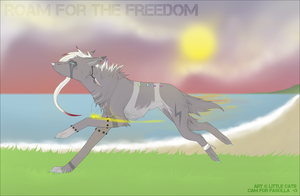 Roam for the freedom by Little-cats