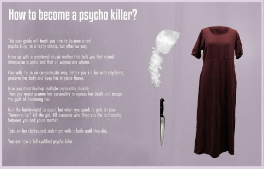 how to become a psycho killer by stignr