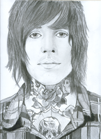 Oliver Sykes by chocolatartmusic
