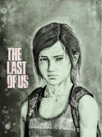 The Last Of Us drawing- Ellie by zakValkyrie