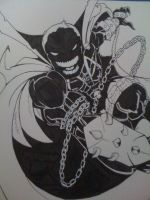 Spawn inks by RobTorres