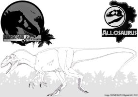 InGen Files - Allosaurus by Miyess