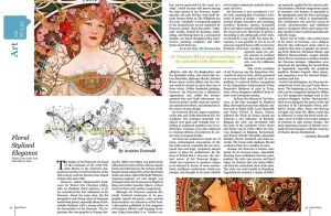 Art Nouveau Spread by SeeMooreDesigns