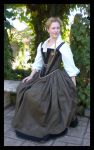 Elizabethan Gown WIP by janey-jane