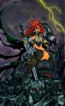 Red Sonja: Queen of Steel - Colors by oO-Monkey-Oo