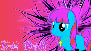 Ice Ball Wallpaper by DigiRadiance