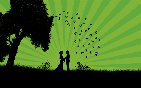 Just Married Green by Mar0988