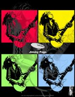 Jimmy Page Poster by uwa