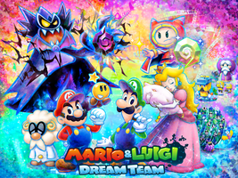 Mario and Luigi: Dream Team - The Year of Luigi by Legend-tony980