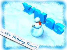 CHRISTMAS SNOWMAN04 by kevinandy