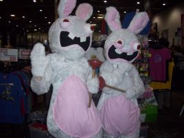 Anime Expo - Raving Rabbids by BabemRoze