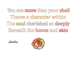 More than Bones and Skin by Demachic