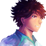 Oikawa- Haikyuu by Skyavii