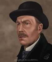 David Burke as Watson by Windfreak