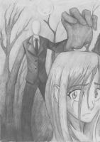 Slender Man - don't look back by abdre16
