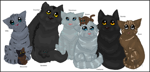 Family Portrait - Graystripe by Shadowgaze