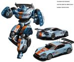 Aston Martin Transformer style by xjager513