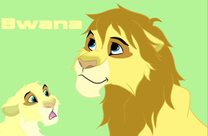 OC Bwana Adult/Cub by Nintendo-Lover-Kat