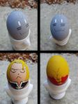 FMA Easter Eggs by Fyre-Dragon