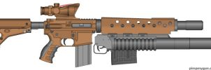 M16 ACR by MacArther