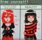 Draw Yourself meme by RedStar-Sama