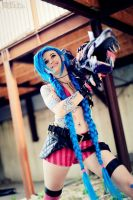 Get Jinxed ! - Jinx Cosplay - LOL by mimsrocks