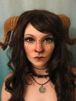 Makeup Test :: Faun 3 by DecayedxElegance