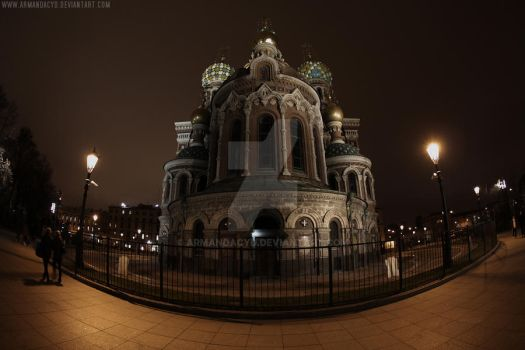 Church of the Savior on Blood by Armandacyd